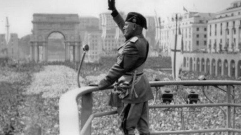 Мусолини иска да възвърне величието на Италия и вижда във футбола идеалното средство за сплотяването на нацията.