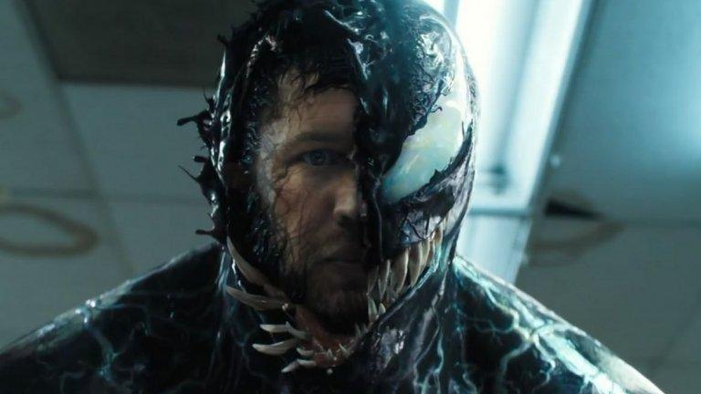 """""""Венъм 2"""" (Venom 2) Премиера: 2 октомври  Антигероят, изигран от Том Харди, се завръща в продължение на филма от 2018-а. Еди Брок е разследващ журналист, в чието тяло се крие хищен извънземен организъм. В продължението подобен пришълец намира своя домакин в серийния убиец Клейтъс Касиди (Уди Харелсън) и двамата се превръщат в неконтролируемия Карнидж. За феновете на Спайдър-мен сблъсъкът на Венъм и Карнидж на голям екран без съмнение ще е голямо събитие, а от чисто зрителска гледна точка се надяваме, че новият филм, режисиран от Анди Съркис (Ам-гъл от """"Властелинът на пръстените""""), ще е малко по-запомнящ се от първия """"Венъм""""."""