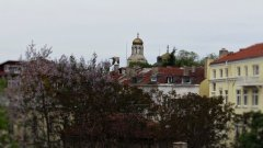 Поглед към катедралата  Снимка: Румяна Полизова