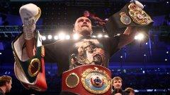 Новият крал на бокса обясни защо не е искал да нокаутира Джошуа