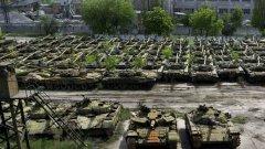 На мястото някога са се правели технически проверки и модернизация на танковете Т-64, Т-72 и Т80, построени в близката фабрика във Харков.