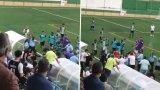 Меле на мач в Португалия предизвика полицейска стрелба (видео)