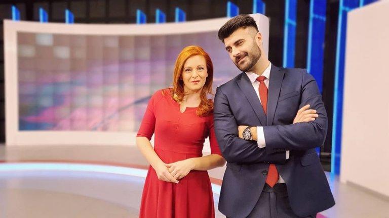Десислава Атанасова и Константин Динчев.