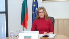 """Екатерина Захариева призова Брюксел да не дава ход на пакета """"Мобилност"""""""