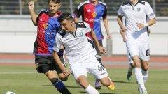 Лудогорец спечели първата си точка в малдежката Шампионска лига