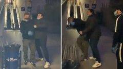 """""""Бягай, ку*ко"""": Ултраси на Барса нападнаха фен на Еспаньол пред болница (видео)"""