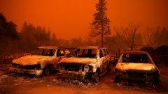 Пожарите в Калифорния разкриват дълбоки класови разлики