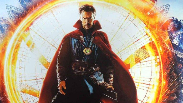 """Doctor Strange in the Multiverse of Madness (25 март 2022 г.)  Темата за мултивселената дори присъства в заглавието на продължението на """"Доктор Стрейндж"""" (2016 г.). Бенедикт Къмбърбач отново е в главната роля на магьосника Доктор Стрейндж, който продължава да изучава тайните на Камъка на времето. Срещу него ще се изправи Мордо (Чуетел Еджиофор) - неговият бивш приятел и съратник, който обаче вече преследва други магьосници. Ясно е, че във филма ще видим и Алената вещица Уанда Максимоф (Елизабет Олсън), като ще бъде продължена историята ѝ след трансформиращите събития, които тя преживя в сериала WandaVision.  Режисьор е Сам Рейми (""""Злите мъртви"""", трилогията """"Спайдър-мен"""" с Тоби Макгуайър)."""