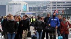 """Летище """"Завентем"""" в Брюксел остава затворено, а около 800 пътника все още не могат да излетят от столицата"""