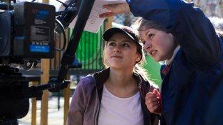 """""""Киното е въпрос на вкус и за всеки влак си има пътници"""", споделя младата режисьорка Стефани Дойчинова, а след трите ѝ късометражни филма ние вече нямаме търпение да """"попътуваме"""" със следващата ѝ история."""