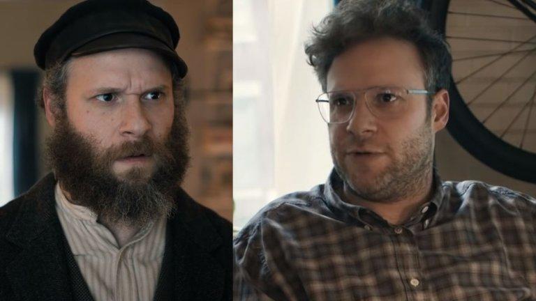 """An American Pickle (HBO) - 6 август Вече ви писахме за това заглавие, което трябва да се появи изпод шапката на HBO, в което Сет Роугън ще играе две роли - на Хершел Грийнбаум - мъж от измислена източноевропейска държава, който емигрира в САЩ през 1920 г., но заради инцидент в завода за кисели краставички, в който работи, е консервиран до наши дни, и неговия правнук Бен - скучноват програмист без личен живот. Разочарован от наследника си, """"старият"""" Грийнбаум се опитва да му помогне да промени живота си, а същевременно - да сбъдне и собствените си мечти. Хуморът на Сет Роугън е доста специфичен и не е като винаги да му се получава, но An American Pickle все пак може да се окаже забавен и развлекателен."""
