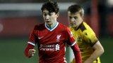 Ливърпул обвърза полския Меси с професионален договор