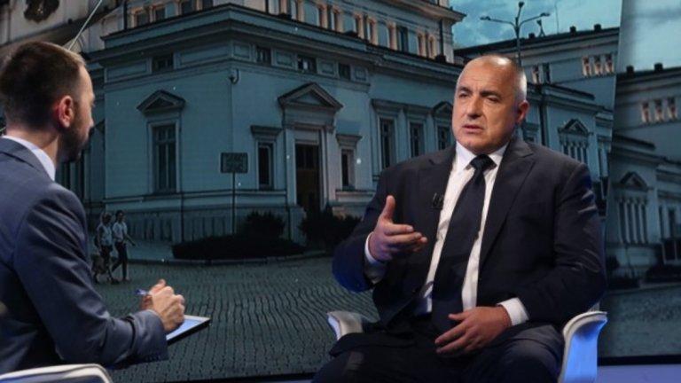 Борисов ще отговаря на актуални въпроси от зрителите