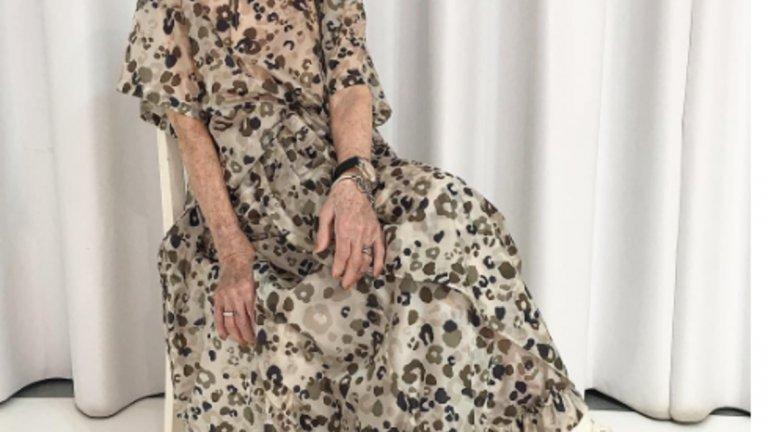 """Пенсионерката Ернестине ЩолбергВ класацията няма само млади момичета. Изключението се казва Ернестине Щолберг, тя е на 94 и от няколко години започна кариерата си на модел. Открита от Маркус Щрасер и Хелмут Рутер, собственици на """"Стор Парк"""" във Виена, пенсионерката Ерни има невероятен успех в социалните мрежи."""