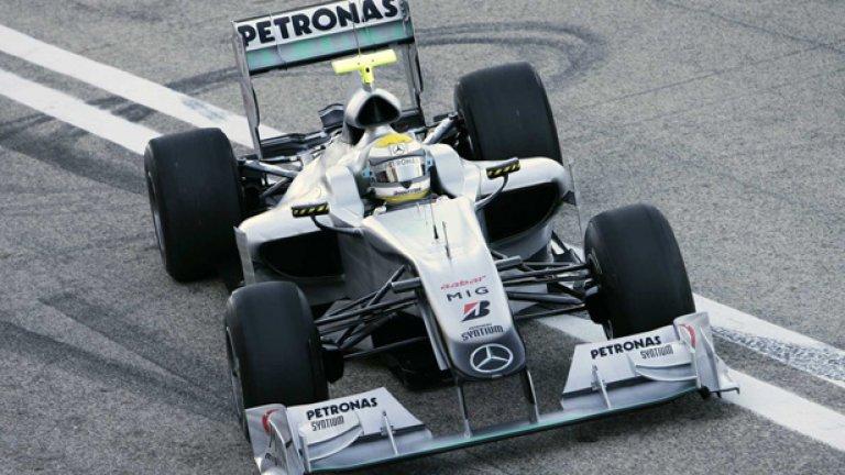 Нико Розберг беше най-бърз в петъчните тренировки в Бахрейн
