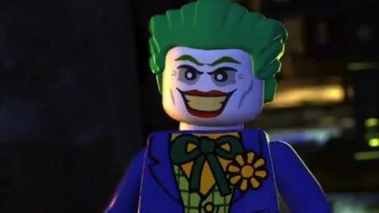 Очаква се Лего вариантът на Жокера да е повече забавен, отколкото зловещ