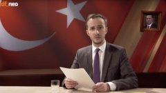 Германският комик съди канцлера заради неин коментар върху стихотворението му срещу турския президент Реджеп Ердоган