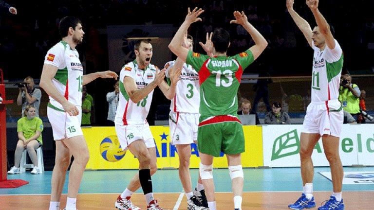 Волейболистите ни се разминаха с отборите на Русия, Франция и Сърбия в предстоящия жребий за Евроволей 2011