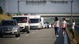 Около 70% от колите на опашката са с румънска регистрация