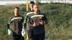 Цветанов вече тренира отделно от основната група футболисти на Ботев