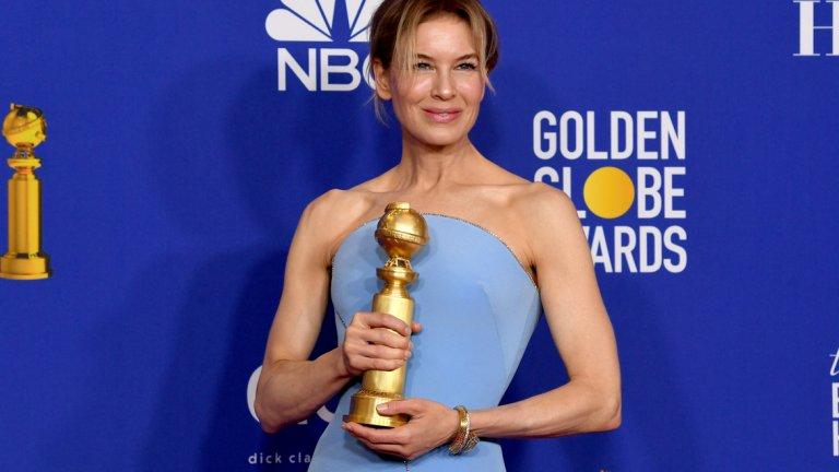"""Най-добрата женска роля пък отиде при Рене Зелуегър за ролята й на Джуди Денч в биографичния """"Джуди"""""""