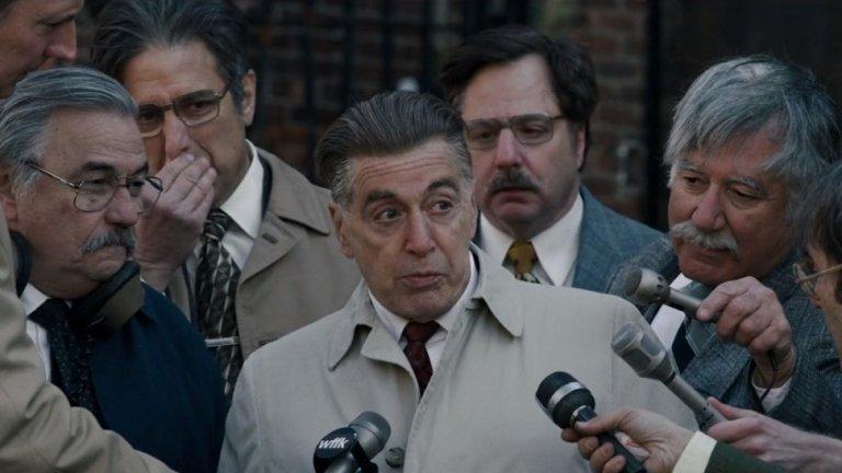 """Номиниран за най-добър филм: """"Ирландецът"""" на Мартин Скорсезе"""