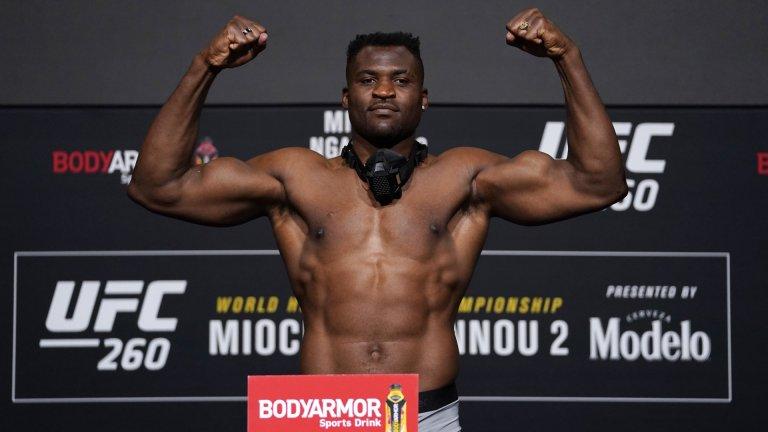 Планина от мускули и брутална африканска сила - Франсис Нгану е най-опасният човек на планетата