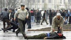 Насилието в Киргизстан нараства, съобщиха световните агенции
