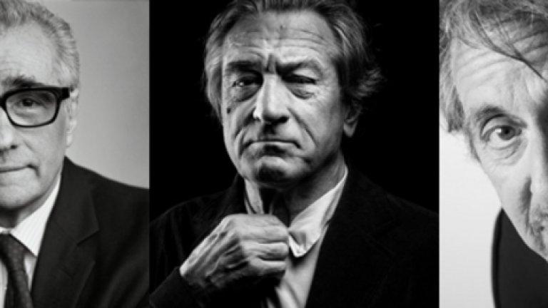 """Следващата стъпка?The Irishman е първата колаборация между Ал Пачино и Мартин Скорсезе, в която още се включват Робърт Де Ниро и Джо Пеши. Филмът е базиран на едноименната книга на Чарлс Бранд, която разказва за """"най-големия мафиотски хит в историята"""". Може ли той да е нова ера в кариерата на Ал Пачино? Като нищо, надеждата за нещо голямо определено не е малка."""