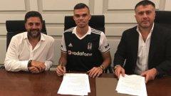 Португалският национал бе свързван с трансфер в Пари Сен Жермен, но подписа договор за два сезона с гранда от Истанбул.