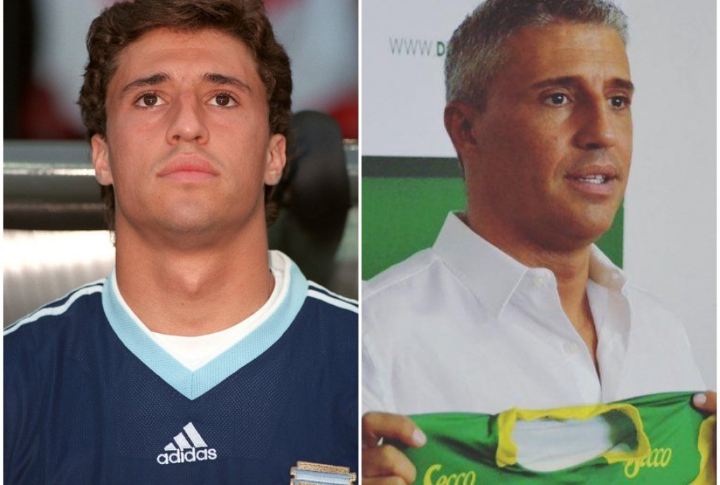 Как изглеждат сега великите нападатели на Аржентина от 90-те и началото на новия век