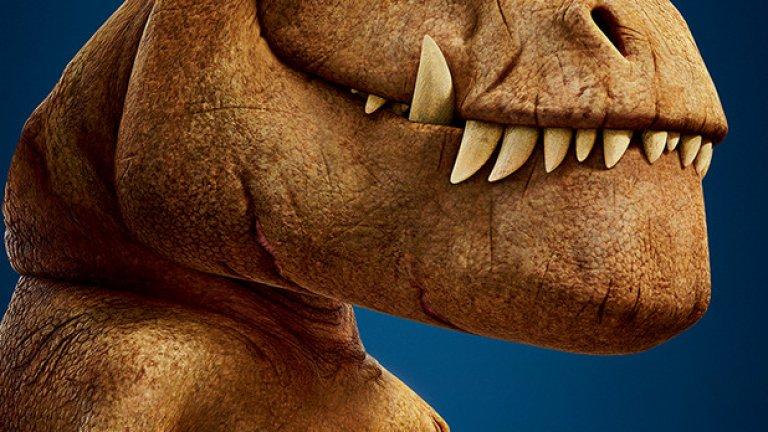 """Новата детска анимационна приказка """"Добрият динозавър"""" се очертава да бъде хит за зимните месеци. Анимацията ще може да се гледа както на 2D, така и на 3D"""