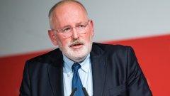 ПЕС номинира Франс Тимерманс за председател на Европейската комисия