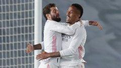 Реал се помъчи, но отново е на две точки зад Атлетико