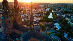 В шведския град Упсала има нови мерки срещу COVID-19, но никой не следи дали се спазват. Идеята? Да се провери дали гражданите могат сами и за по-дълго време да внимават, когато имат усещането, че имат повече контрол