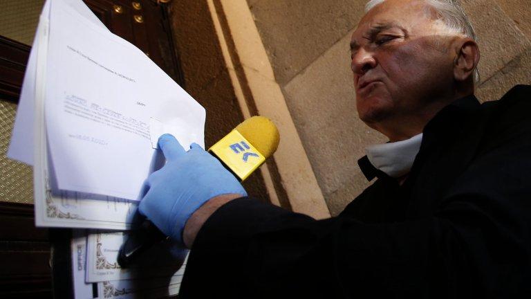 """""""Не знам каква е стойността на тези документи в момента"""", каза Диков пред Министерски съвет."""
