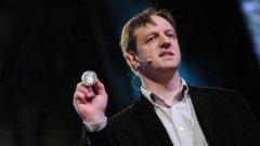 Харалд Хаас представи прототип на Li-Fi устройство на конференцията TEDGlobal