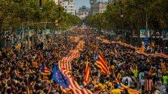 Митинги за националното единство се състояха и в Мадрид