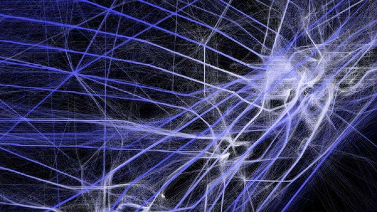 Аарон Коблин превръща данните в изкуство