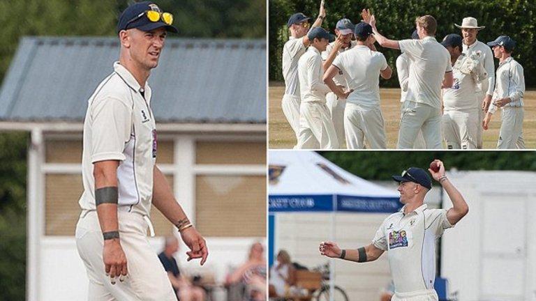 Джо Харт, крикет След като бе оставен извън състава на Англия за Мондиал 2018, Джо Харт реши да поддържа форма с крикет през лятото. Вече на 32, вратарят все още е активен футболист и е част от тима на Бърнли.