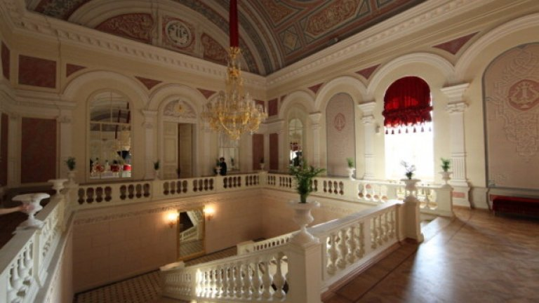 Интериорът на Болшой театър