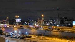Осем коли се удариха на Околовръстното в София
