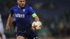 """Имобиле не пропусна да се разпише за Лацио, но """"орлите"""" се препънаха на """"Олимпико"""" срещу Динамо"""