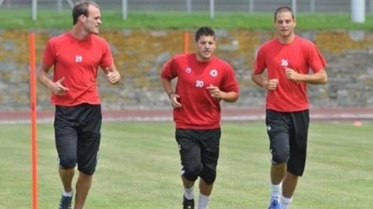 Грегори Акселрод тренира с тима на ЦСКА