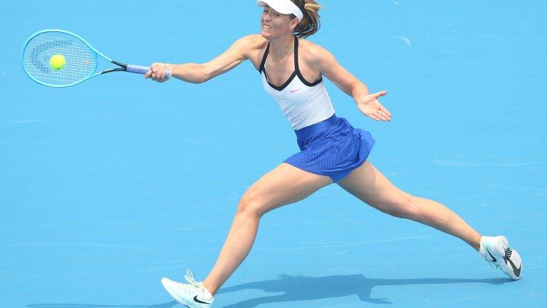"""Времето, в което повтаряхме рефрена """"Маша е наша"""", отмина с раздялата на Григор Димитров с Мария Шарапова, но руската тенисистка си остава една от най-красивите жени в този спорт, а и една от най-известните дългокраки жени. Шарапова е висока 1,88 м, а краката ѝ са цели 121 см."""