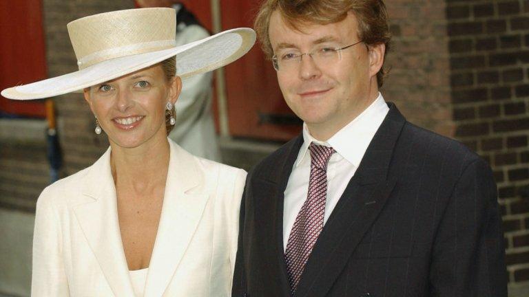 Принц Фризо и принцеса Мейбъл По-големият брат на принц Константийн, принц Фризо, също е бил работещ аристократ. След като получава степен по аеронавигационна техника, е нает в компания за обогатяване на уран. Той почина през 2012 г. по време на ски ваканция в австрийските Алпи след лавина.   Аристократите, които получават заплати от частна работа, в Нидерландия не получават конституционни надбавки.
