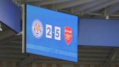 Двубоят между Лестър и Арсенал изравни рекорда за най-резултатен мач през сезона досега - Уест Хем - Борнемут 3:4 от втория кръг. Ето и другите интересни моменти от седмия кръг във Висшата лига...