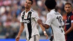 Роналдо даде преднина на тима си, но голът му не стигна за победа