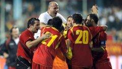 Черна гора ликува, след като ще играе бараж