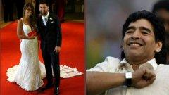 Диего Марадона даде интересно обяснение защо не присъства на сватбата на Лео Меси...
